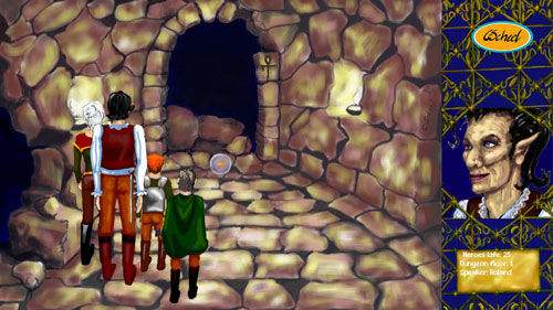 charlotte scheel 2d game art hule cave dungeon